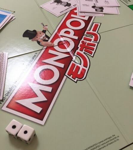 モノポリー:子どものお金の勉強になるボードゲーム