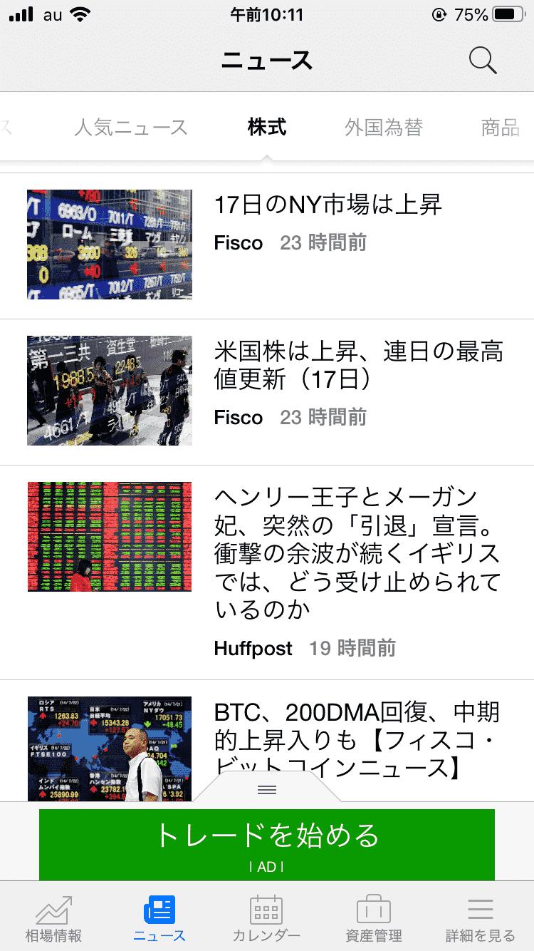investing.com ニュース