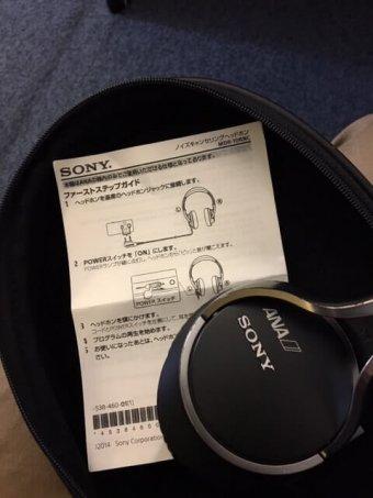 ファーストクラスのヘッドフォン