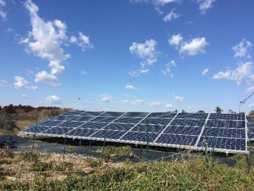 野立て太陽光発電所