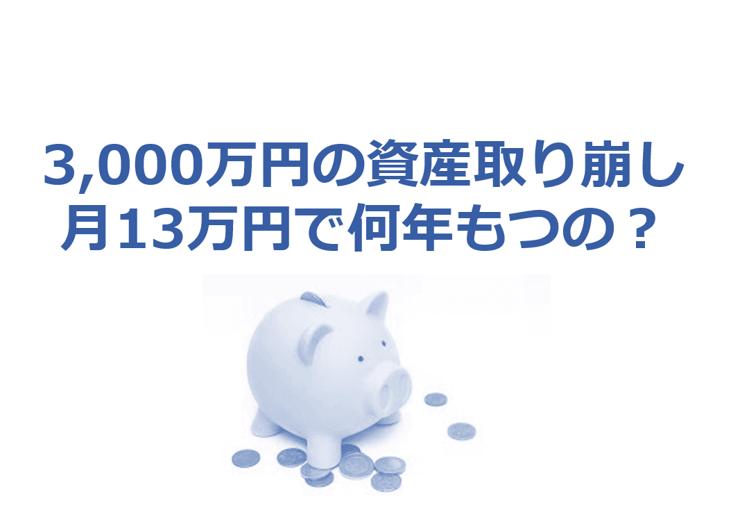 退職後の3000万円の使い方