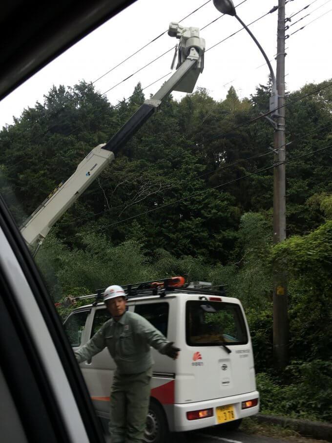 千葉県、東京電力管轄内でも各地の電力会社のサポートがあった